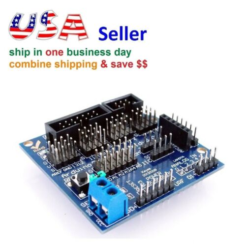 Sensor Expansion Board Shield V5.0 Arduino UNO MEGA Digital Analog Servo Motor
