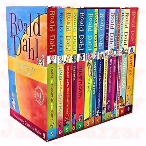 ROALD DAHL Collection Phizz Whizzing 15 Books Collection Box Set NEW BOOK