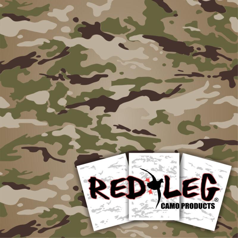 """Redleg Camo ™ OCP 14""""x11""""  army scorpion W2 duck boat camo stencil kit"""