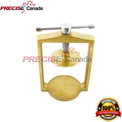 Dental Laboratory Lab Spring Press Compress For Two Brass Denture Flask DN-2306