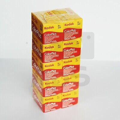 10X Pellicola 35mm Rullino fotografico Colore Kodak Colorplus 200 ASA 36 foto