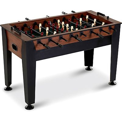 """Foosball Soccer Table Set Indoor Game Room Furniture 54"""" Modern Classic Style"""
