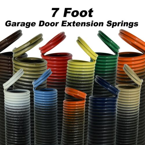 Garage Door Extension Springs for 7 Foot Tall Garage Door