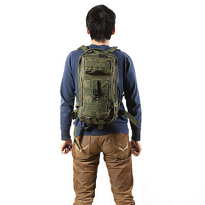 3P Outdoor Neutral Adjustable Military Tactic Backpack Rucksacks ...