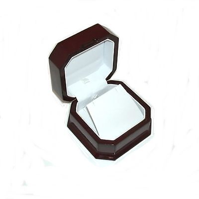 12 Elegant Cherry Wood Pendant Or Large Earring Jewelry Display Gift Boxes