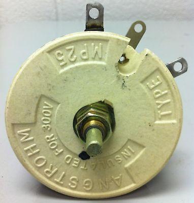 Angstrohm Rheostat 5 Ohm 100 Watt - Part Mp25 - New