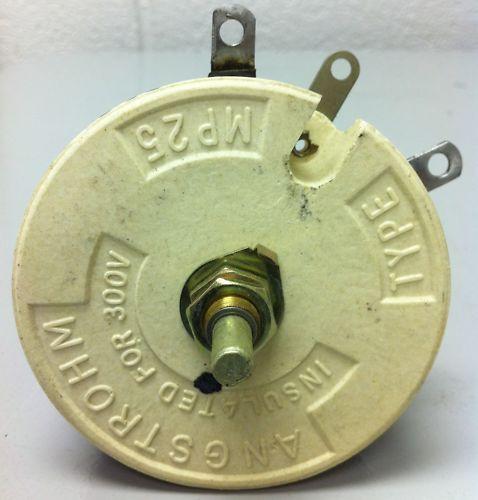 ANGSTROHM RHEOSTAT 5 OHM 100 WATT-MP25 - 10 Pieces NEW