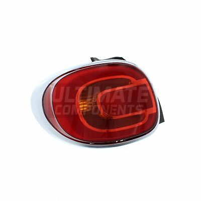 Fiat 500X 15-18 Rear Tail Light Lamp Left Passenger Near Side N//S Genuine OEM