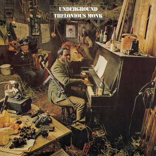 "Reproduction ""Thelonious Monk - Underground"" Poster, Jazz, Size: 16"" x 16"""
