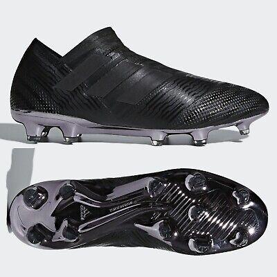 adidas Nemeziz 17+ FG 360 Agility Mens Football Boots Black Laceless RRP £250