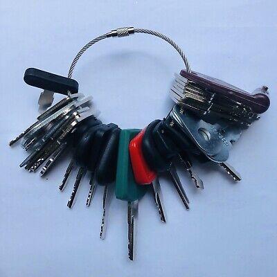 28 Keys Heavy Equipment Construction Ignition Key Set Cat Volvo Kubota Hitachi