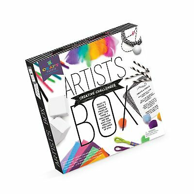 Craft-tastic Artist s Box Arts And Crafts STEAM Kit Includes 7 Creative C... - $39.99
