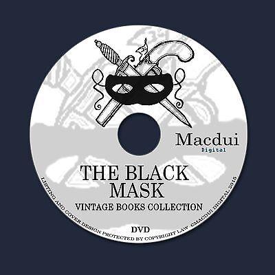 The Black Mask – Vintage Pulp Magazines 6 Volumes on 1 DVD Comic,Comics,Hero