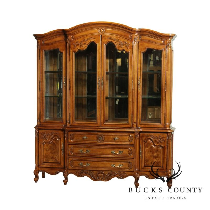 Bernhardt French Louis XV Style China Display Cabinet