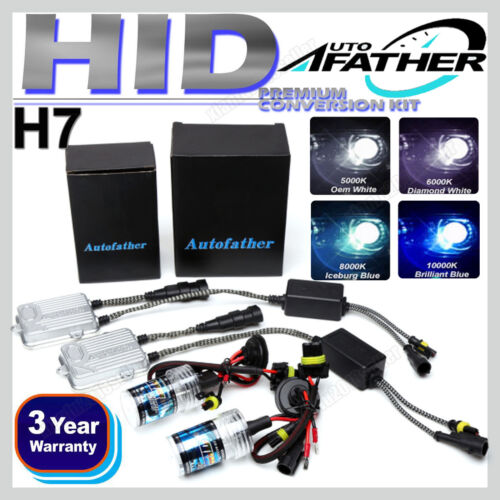 Car Parts - H7 55W Xenon HID Conversion Car Headlight Lamps Light Bulbs 5000K 6000K 8000K 2x