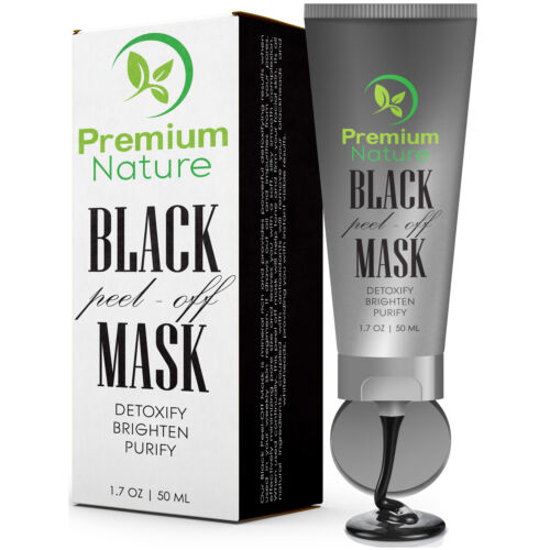 Purifying Black Peel off Mask Facial Cleansing Blackhead Rem