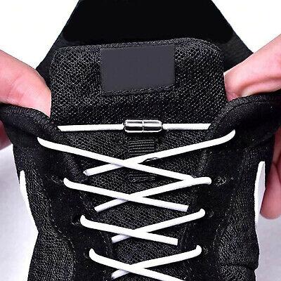 Metall Kappe (Elastische Schnürsenkel mit Metallkappe Schnell Verschluss Kinder Sport Schuhe )