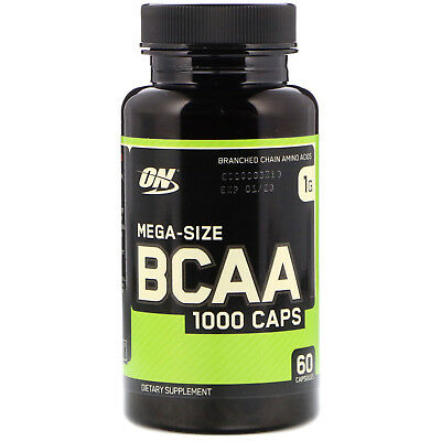 Optimum Nutrition BCAA 1000 Caps Mega-Size 1 g 60 Capsules