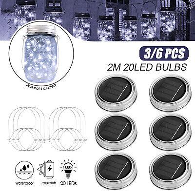 solar powered mason jar lid light 20