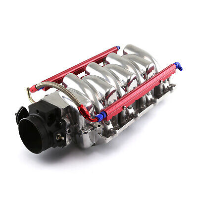 Chevy LS1 LS6 Polished Aluminum Intake Manifold with 92mm Throttle Body