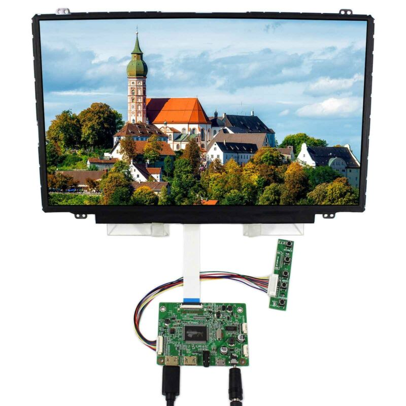 "HD MI Mini LCD Controller Board 14"" NV140FHM-N44 1920x1080 IPS 30Pin LCD Screen"