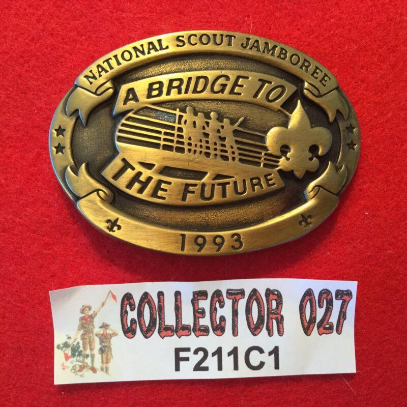 Boy Scout 1993 National Scout Jamboree Belt Buckle Texas Western