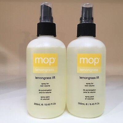 MOP Lemongrass Lift Root Volume Spray ~ SET OF 2 ~ 8.45 oz each *** NEW & FRESH!