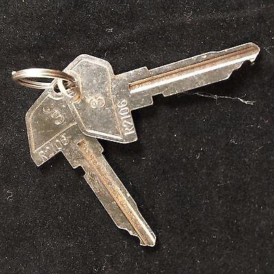 Tec Cash Register 3 Key R2106 Set Of 2