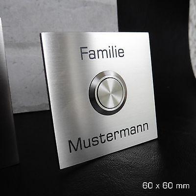 led taster edelstahl schalter klingel klingelknopf. Black Bedroom Furniture Sets. Home Design Ideas