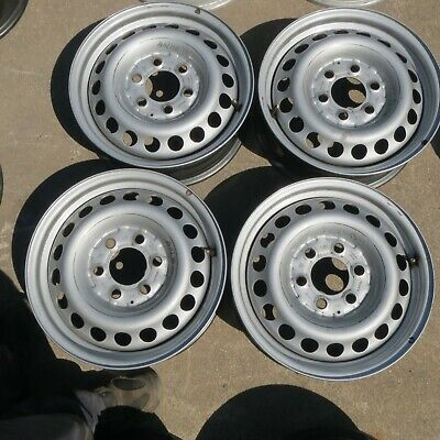 "4 Stahlfelgen Mercedes-Benz Sprinter 2 & VW Crafter 30/35 5,5x16"" ET51"