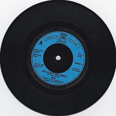 KIO * HOT BLACK AND SWEET /  HONEST MEN *  RECORD SHACK SHACK 6 PLAYS GREAT