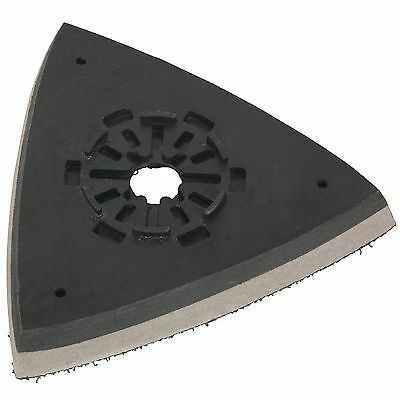 Sealey Multi-Tool 75mm Triangle Hook And Loop Backing / Sanding Pad - SMTA6