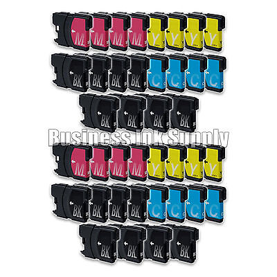 40+ Lc61 Ink Cartridge For Brother Mfc-495cw Mfc-j410w Mf...