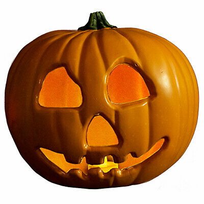 Michaels Halloween Lantern (Michael Myers Halloween 2 Movie Decor Light Up Jack O Lantern Haunted)