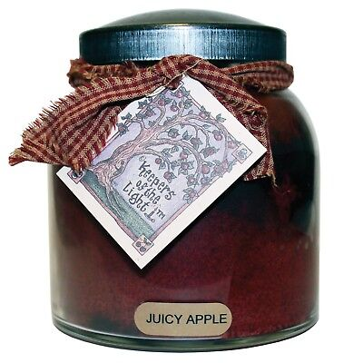 A Cheerful Giver Juicy Apple 34 oz Papa Jar Candle JP08