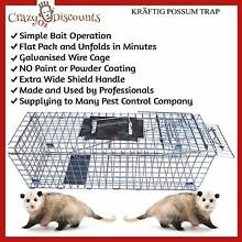 NEW TRAP HUMANE POSSUM CAGE LIVE ANIMAL CATCH FERAL CAT RABBIT Bakery Hill Ballarat City Preview