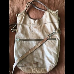 20ff3e8cce4804 Roots Leather Purse - Large Crossbody Bag