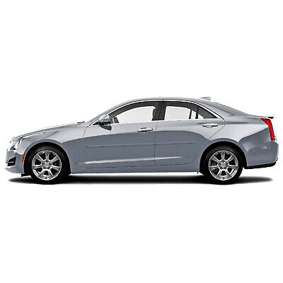 PAINTED BODY SIDE Moldings TRIM Mouldings For: CADILLAC ATS 4 DR SEDAN 2013-2018