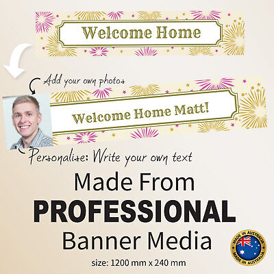 Wedding Decorations Ideas (Personalised Welcome Flowers Home Bridal Gift Idea Canvas Banner)