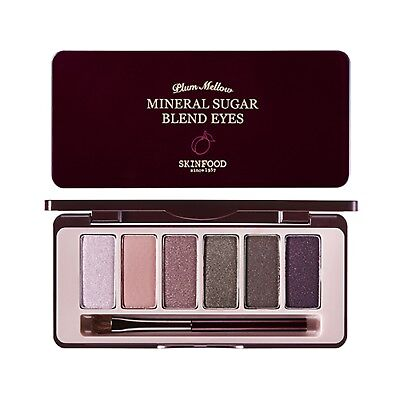 [SKINFOOD] NEW Mineral Sugar Blend Eyes [07.Plum Mellow] 1.5 x 6