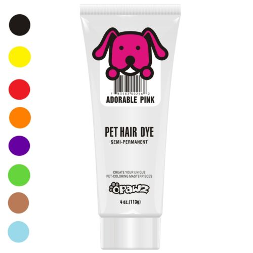 OPAWZ PET DOG HAIR DYE GEL Semi-Permanent, Completely Non-Toxic and Safe, 4oz