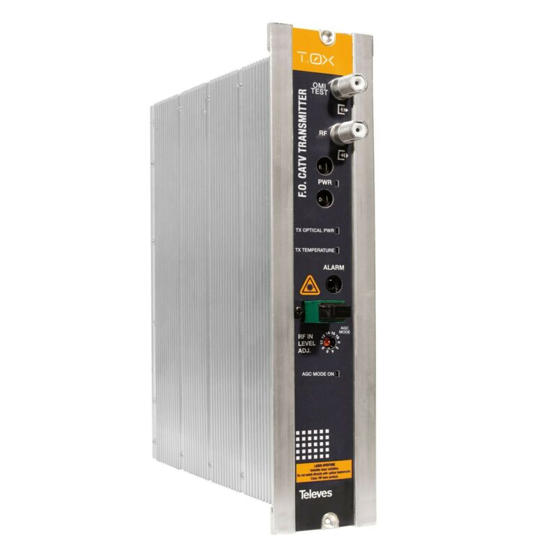 CATV optical transmitter with AGC (without Return Path)1310 nm, Po 10 dBm
