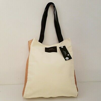 Marc Jacobs DAISY Gold Glitter Tote Bag New