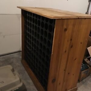 Wine rack , h51, l 51, depth 24 with larger top