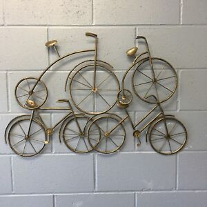 NEW METAL WALL ART - BICYCLES !