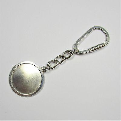 75 - Aparter Schlüsselanhänger aus 835 Silber - G8