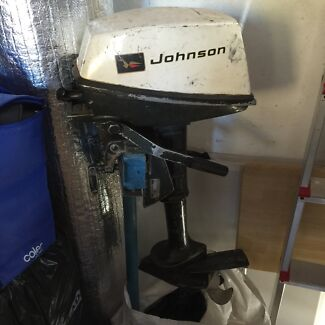 Johnson 3 HP Outboard Motor Botany Botany Bay Area Preview