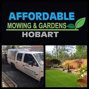 Affordable Mowing & Gardens Hobart Claremont Glenorchy Area Preview