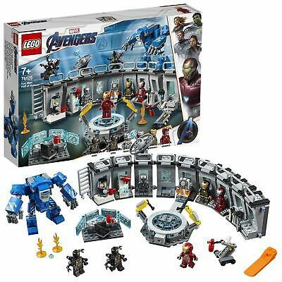 LEGO Marvel Avengers Iron Man Hall of Armor Lab Set 76125