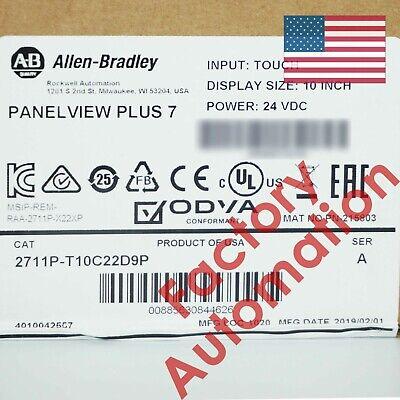 2019 Us Stock Allen-bradley Panelview Plus 7 Graphic Terminal 2711p-t10c22d9p